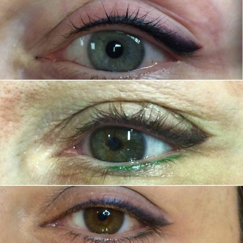 Leone Dibello | Permanent Make Up | Trucco Permanente | Occhi | Eye liner a due colori