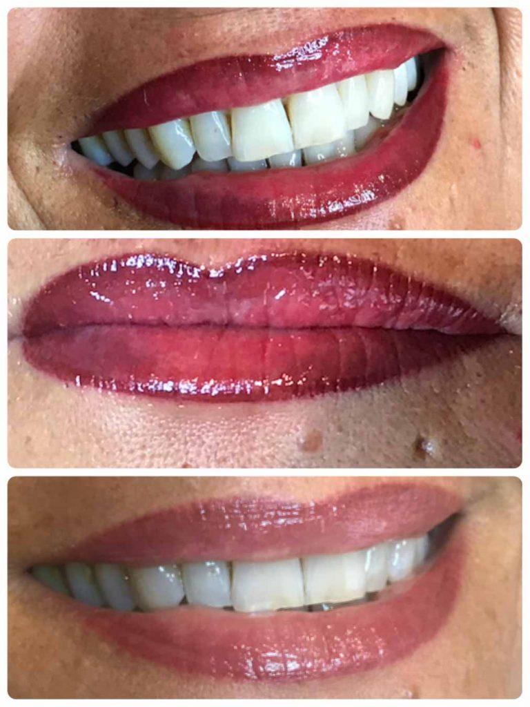Leone Dibello | Permanent Make Up | Trucco Permanente | Bocca | Colorazione della mucosa