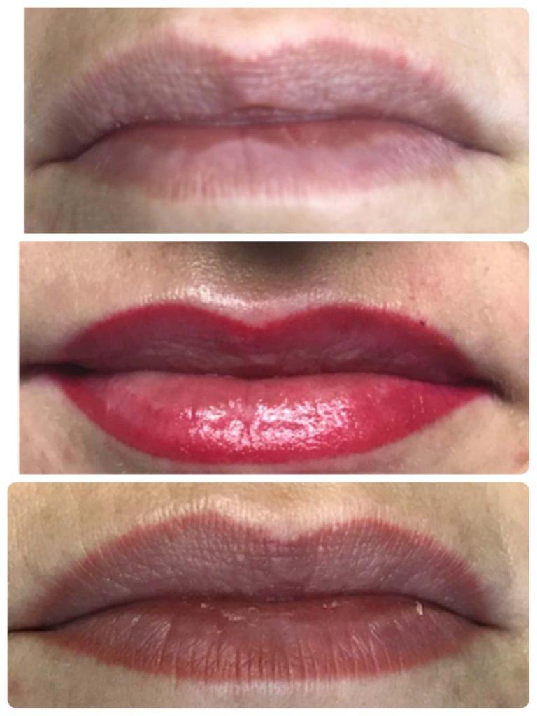Leone Dibello | Permanent Make Up | Trucco Permanente | Bocca | Veli di colore sulle labbra