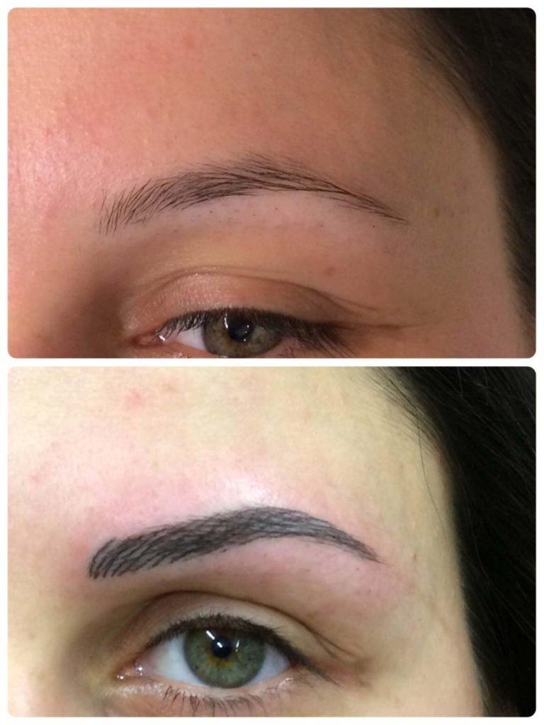 Leone Dibello | Permanent Make Up | Trucco Permanente | Sopracciglia | Pelo pettinato