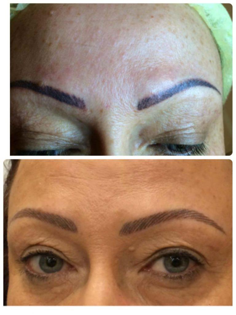 Leone Dibello | Permanent Make Up | Trucco Permanente | Sopracciglia | Chiaro scuro cover-up