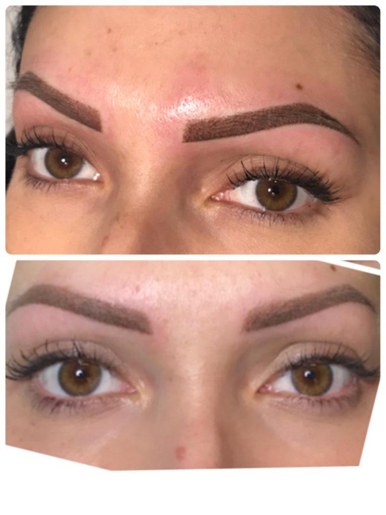 Leone Dibello | Permanent Make Up | Trucco Permanente | Occhi | Puntinato a due colori